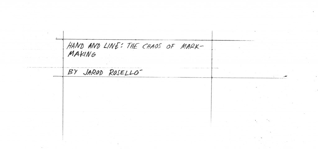 Hand and Line - 01
